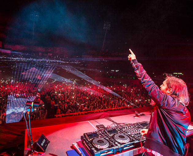 David Guetta, Chino y Nacho, and NERVO join Generation Now youth festival for Central America
