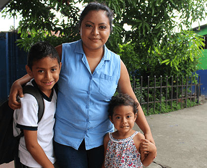 Providing a brighter future for her children through finance skills