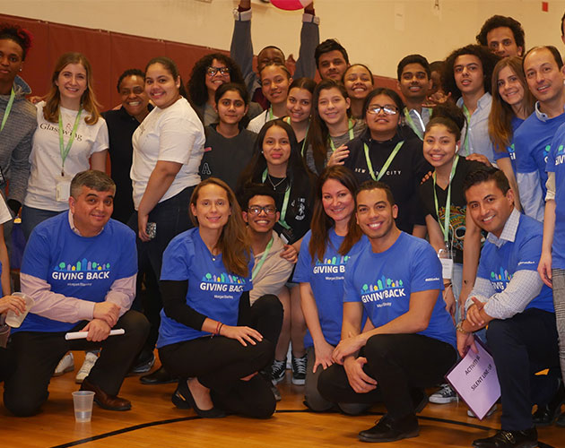 Morgan Stanley & Glasswing Volunteer Day in NYC