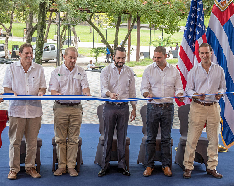 Historic Parque Cuscatlán opens its doors in San Salvador!